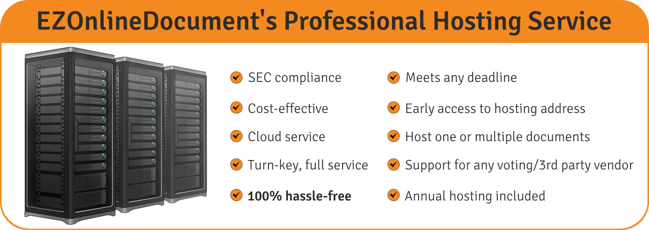 EZOnlineDocuments' Professional Document Hosting Service