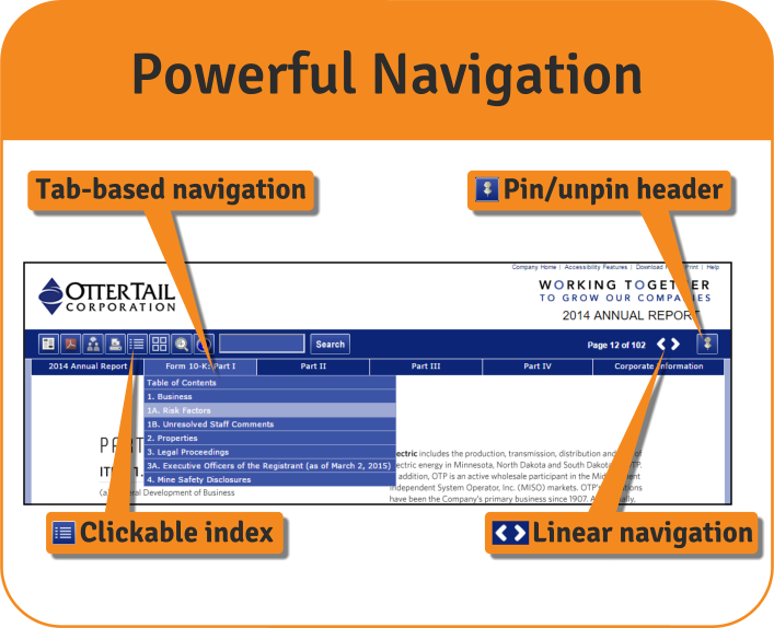 Navigation Features