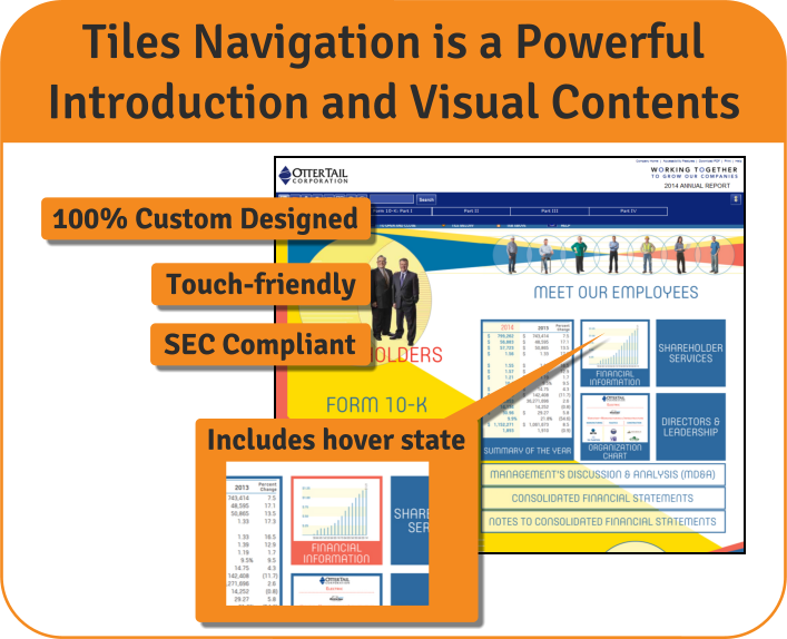 Tiles Navigation: Powerful Introduction & Visual Table of Contents